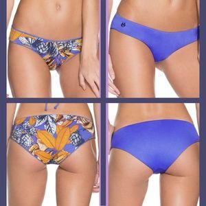 NEW Maaji Mediterranean Blue Sublime Bikini Bottom